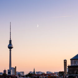 Alexanderplatz and Prenzlauer Berg water tower