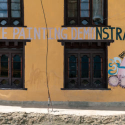 Penis mural in Bhutan