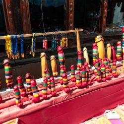 Wooden penisses in Bhutan