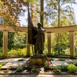 Soviet memorial in Michendorf