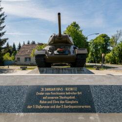 Kienitz tank memorial