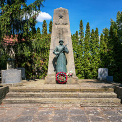 Soviet memorial Manschnow