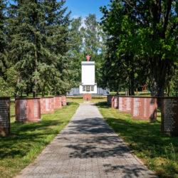 Soviet memorial Reitwein