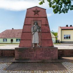 Soviet memorial Platkow