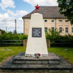 Soviet memorial Steinhöfel