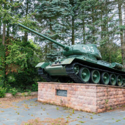 T-34 tank memorial Brandenburg upon Havel