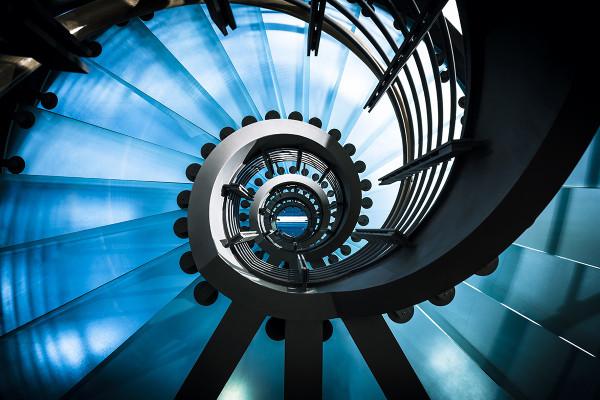 Spiral Staircase Pariser Platz