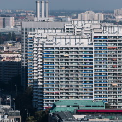 Leipziger Straße concrete buildings