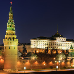 Still light at Kremlin