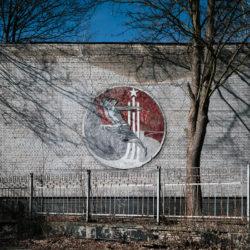 Krampnitz Sowjet-Wandbild