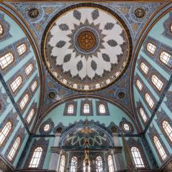 Kuppel der Nusretiye Moschee (Nusretiye Camii) in Istanbul