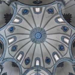Cupola of Little Hagia Sophia (Küçük Ayasofya) in Istanbul