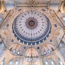 Cupola of Eyüp Sultan Mosque (Eyüp Sultan Camii) in Istanbul