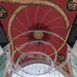 Cupola of Shakirin Mosque (Şakirin Camii) in Istanbul