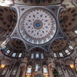 Kuppel der Gazi Ahmet Pascha Moschee (Gazi Ahmet Paşa Camii) in Istanbul