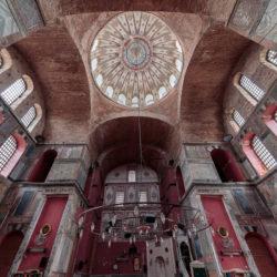 Kuppel der Kalenderhane Moschee (Kalenderhane Camii) in Istanbul