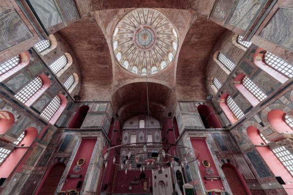 Cupola of Kalenderhane Mosque (Kalenderhane Camii) in Istanbul