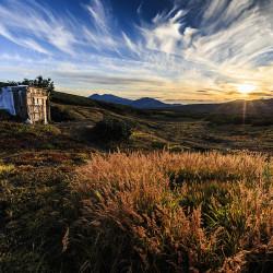 Sonnenuntergang Kamtschatka