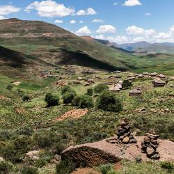 Lesotho,Hochland,Gebirge