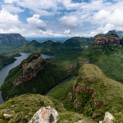 Three Rondavels,Blyde River Canyon,Südafrika