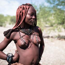 Himba, Namibia, Mädchen