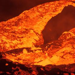 Kochende Lava
