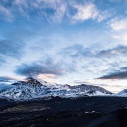 Sonnenaufgang am Tolbatschik